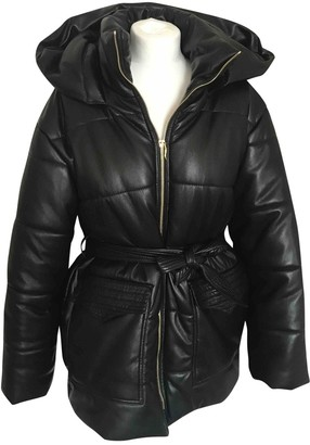Nanushka Black Coat for Women