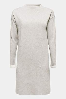 Esprit Womens Grey Flat Knit Dress With Front Pocket - Grey