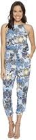 BB Dakota Garnett Wandering Floral Printed Rayon Challis Jumpsuit Women's Jumpsuit & Rompers One Piece