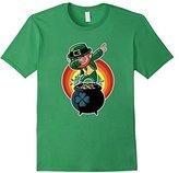 Dabbing Leprechaun St. Patricks Day Tshirt For Boys Girls