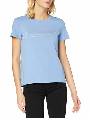 Tom Tailor Women's Basic Streifen T-Shirt
