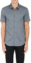 John Varvatos Men's Paisley Cotton-Blend Slim-Fit Shirt