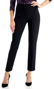 JM Collection Tummy-Control Pull-On Pants, Created for Macy's