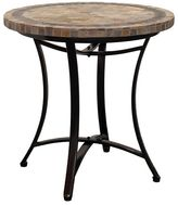 Camilla And Marc Channel Enterprises Outdoor Coffee & Side Tables Topaz Slate Round Table, 100Dia x 75H cm