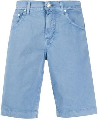 Jacob Cohen Handkerchief Detail Shorts