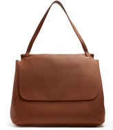 The Row Grained leather shoulder bag
