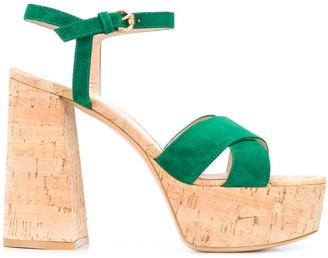 Gianvito Rossi Platform Open-Toe Sandals