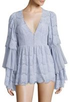 Alice McCall Diamond Dancer Arizona Ruffled Playsuit