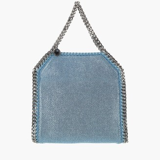 Stella McCartney Falabella Metallic Mini Tote Bag