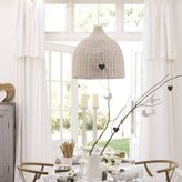 The White Company Rattan Ceiling Shade