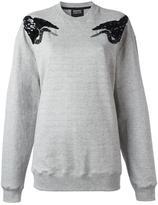 Markus Lupfer sequin bird sweatshirt