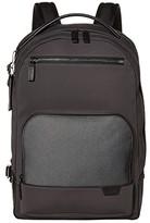 Tumi Harrison Warren Backpack (Black) Backpack Bags