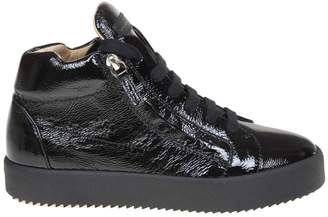 Giuseppe Zanotti May Sneakers In Bright Leather Color Black