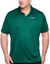 Nike Embellished Short Sleeve Knit Polo Shirt Big and Tall