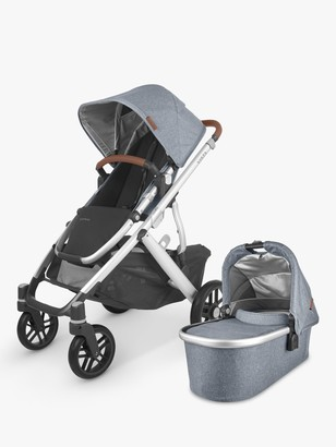 UPPAbaby Vista V2 Pushchair and Carrycot, Gregory