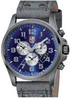 Luminox Men's 1883 Atacama Chronograph 1880 Series Dial With Charcoal Leather Strap Watch