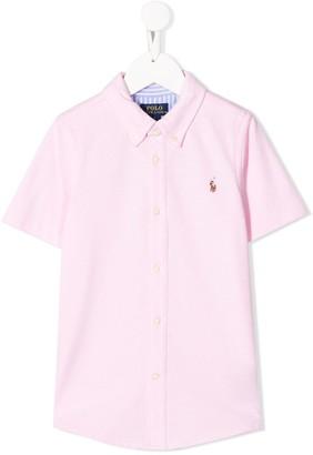Ralph Lauren Kids piqué shirt