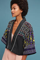 Anthropologie Shell Cropped Shrug