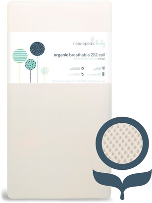 Naturepedic Organic Breathable 252 Coil 2-Stage Crib Mattress