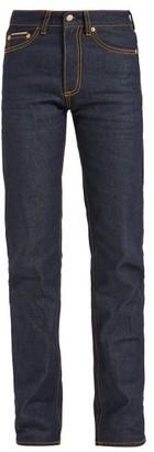 Eytys Cypress Mid-rise Jeans - Womens - Indigo