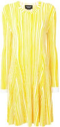 Calvin Klein Striped Knit Dress