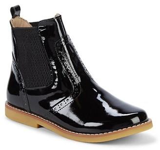 Elephantito Girl's Patent Leather Booties