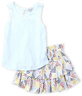 Splendid Girls 4-6x) Two-Piece Tank & Printed Skirt Set