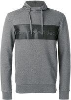 CK Calvin Klein logo print hoodie
