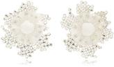 Ranjana Khan Pom and Crystal Bloom Earrings