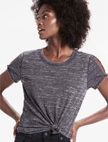 Lucky Brand The Angeles Twist Sleeve Burnout Tee