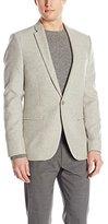 Calvin Klein Men's Premium Wool Flannel Sport Coat