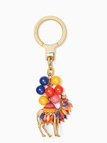Kate Spade Jeweled camel keychain