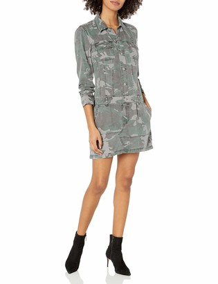 Pam & Gela Women's Button Up Dress
