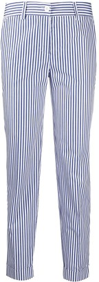 P.A.R.O.S.H. Stripped Crop Trousers