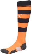 Puma Junior NUFC Newcastle Away Socks Navy/Flame Orange