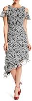 Taylor Asymmetrical Floral Dress