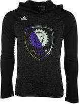 adidas Men's Long-Sleeve Orlando City SC Aerofade Hooded T-Shirt