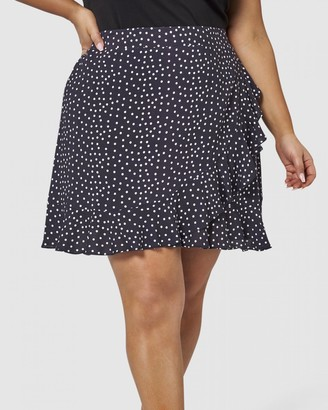 Sunday In The City - Women's Black Mini skirts - Maze Skirt - Size One Size, 10 at The Iconic