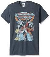 Transformers Men's Vintage Groupshot T-Shirt