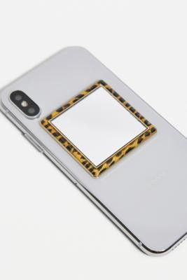 Urban Outfitters Leopard Phone Mirror - Assorted ALL at