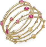 INC International Concepts Gold-Tone 5-Pc. Set Bangle Bracelets, Created for Macy's