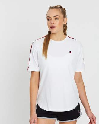 Russell Athletic Taped Shoulder Tee