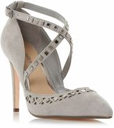 Head Over Heels Cosmos Embellished Cut Out Court Shoe
