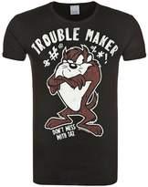 Logoshirt Looney Tunes Trouble Maker Print Tshirt Black