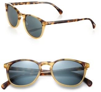 Oliver Peoples Finley 51MM Round Sunglasses