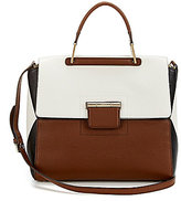 Furla Artesia Colorblocked Top-Handle Satchel