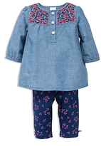 Little Me Girls' Floral Tunic & Pants Set - Baby
