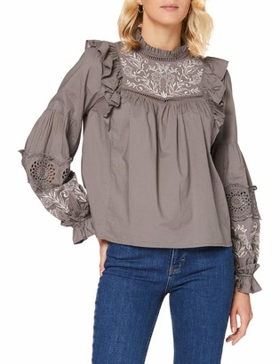 New Look Women's Grace Grey Ember Shell Top