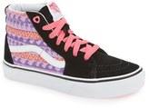 Vans Toddler Girl's 'Sk8-Hi' Sneaker