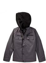 Urban Republic Ballistic Faux Fur Lined Officer Jacket (Big Boys)